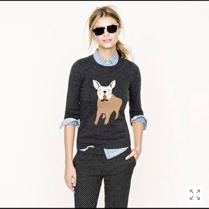 J. Crew Pullover Frenchie Wool Blend Sweater